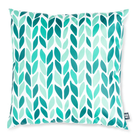 Green with Envy Waterproof Small Cushion Cover with Insert