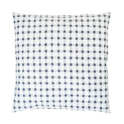 Grey Gingham Waterproof Large Cushion Cover
