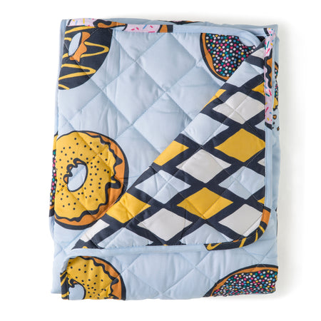 Krispy Dreme Cot Quilted Cover/Playmat