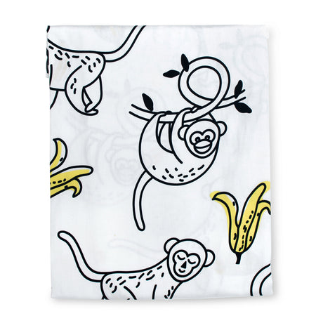 Monkey Business Fitted Sheet
