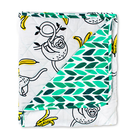 Monkey Business Cot Quilted Cover/Playmat
