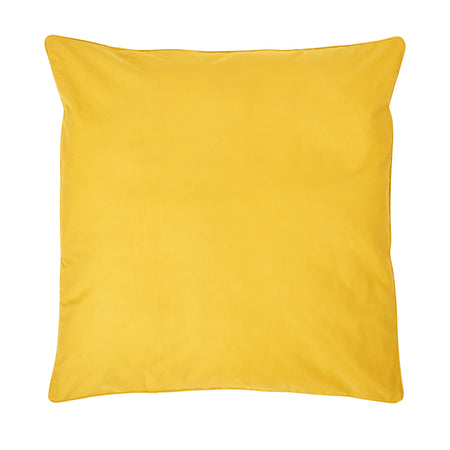 Mustard Floor Cushion Cover