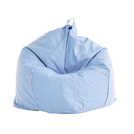 Pinstripe Blue/White Bean Bag Cover