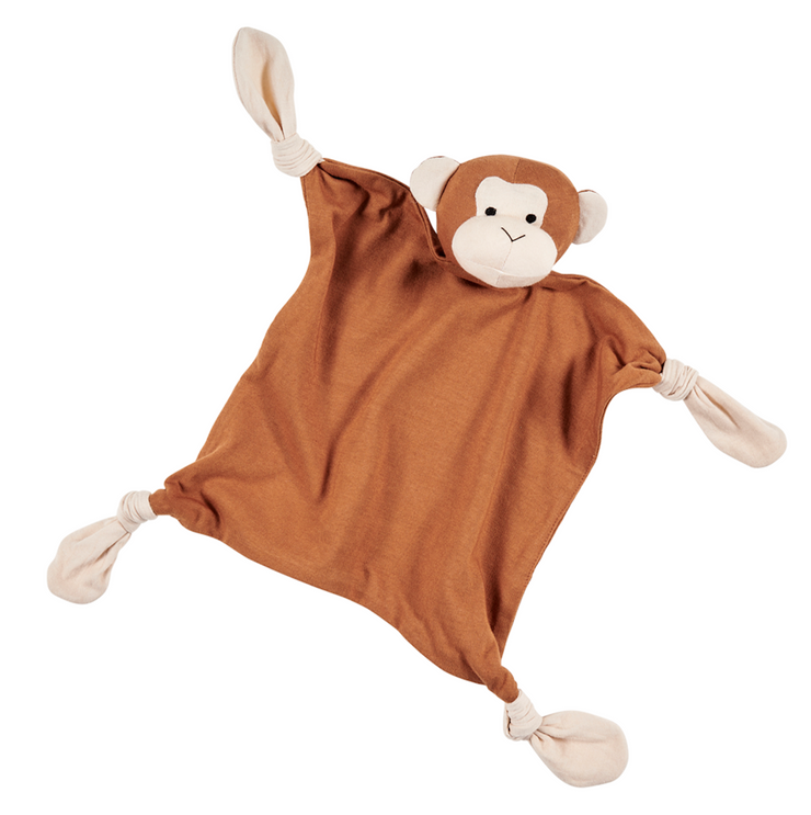Mac Monkey Organic Baby Security Blanket