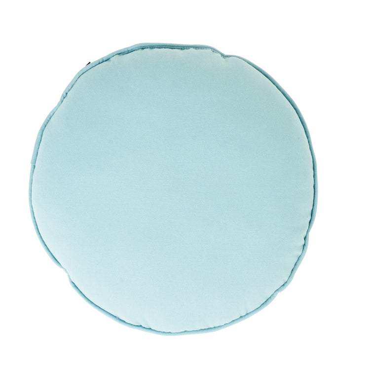Round Seafoam Cushion