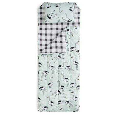 Flamingo Mint Sleeping Bag