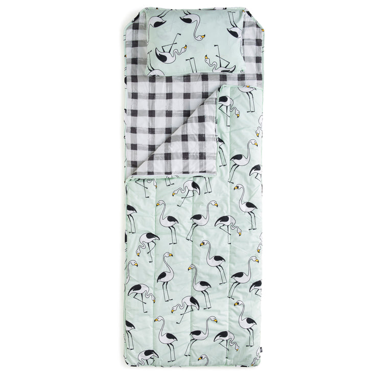 Flamingo Mint Slumber Sack