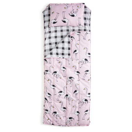 Flamingo Pink Sleeping Bag