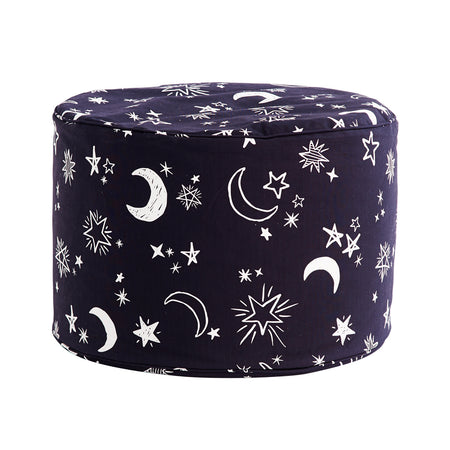 Starry Night Ottoman Cover