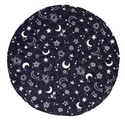 Starry Night/Solid Grey Reversible Playmat