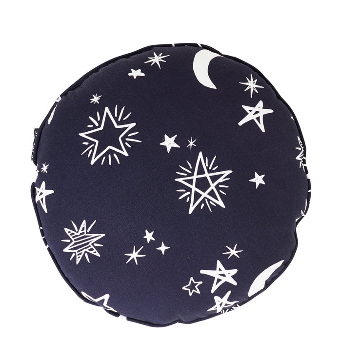 Round Starry Night Cushion