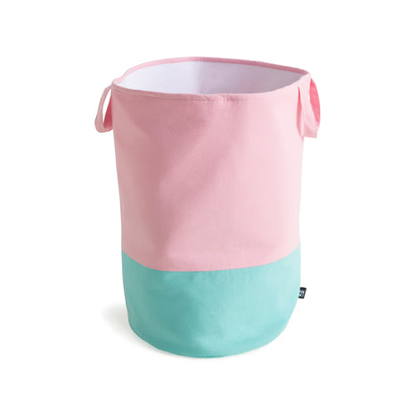 Mint/Pink Storage Basket