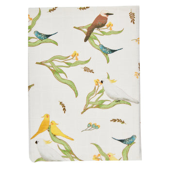 Australiana Flora Fitted Sheet