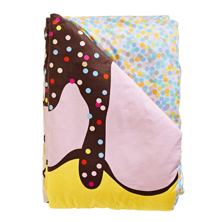 Triple Sundae Reversible Quilt Cover