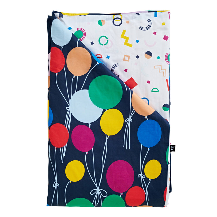Up Up and Away Reversible Quilt Cover
