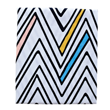 Zig Zag Day Fitted Sheet