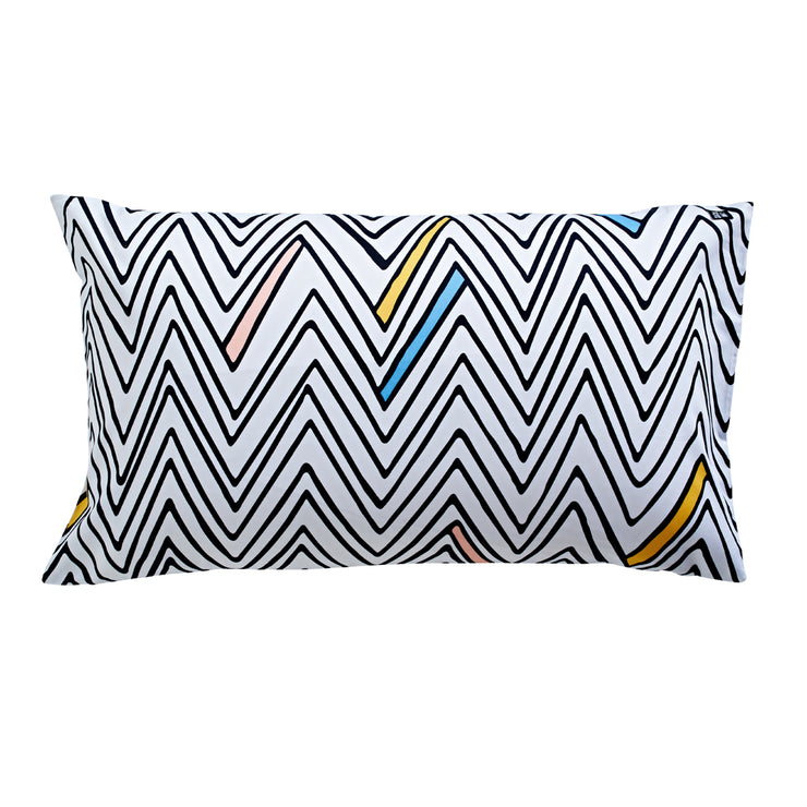 Zig Zag Day Pillowcase