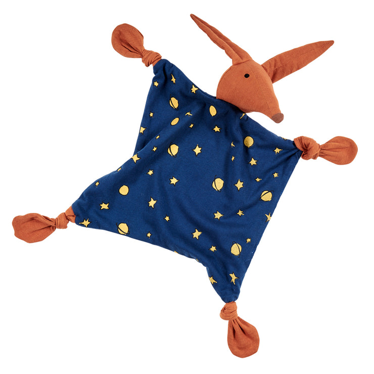 The Fox/Le Renard Organic Baby Security Blanket