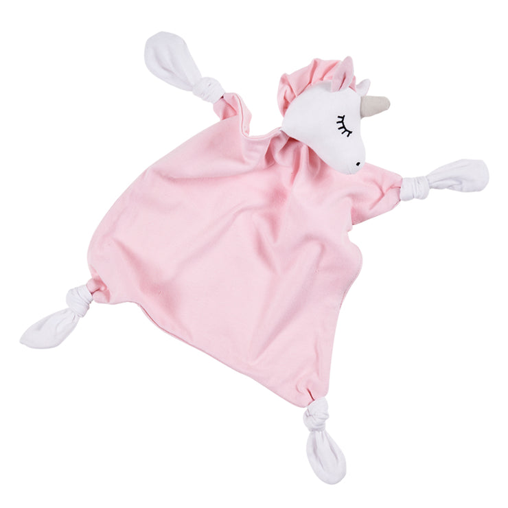 Uma Unicorn Organic Baby Security Blanket