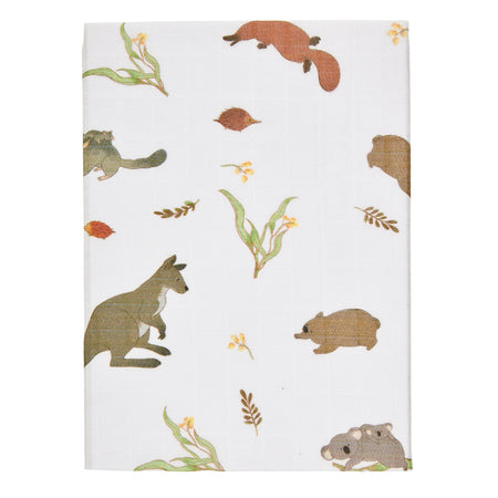 Australiana Fauna Fitted Sheet