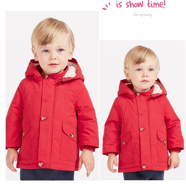 13dcbd5bd8f1 Dave   Bella Toddler Boys Coat with Removable Hood