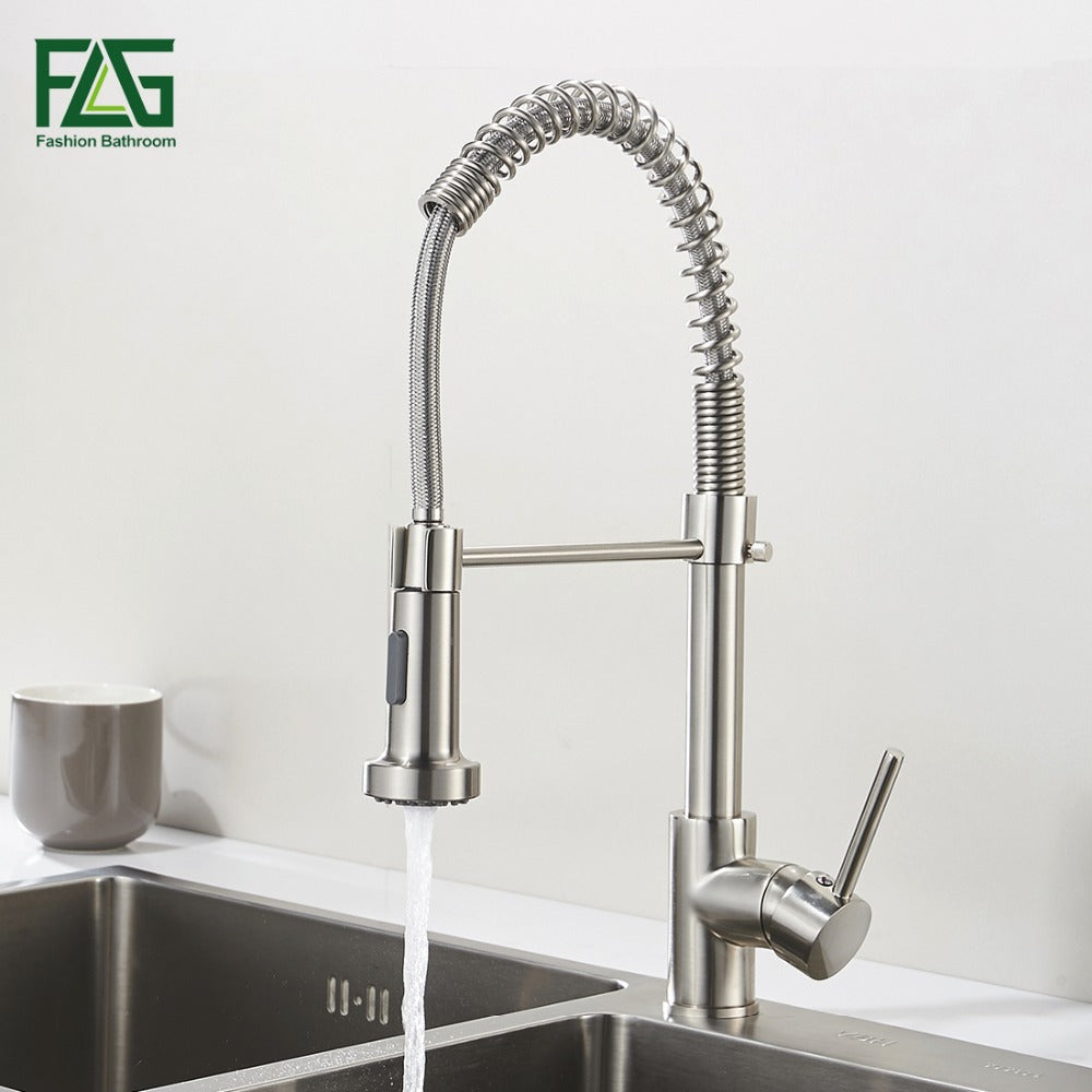 faucet handle ar with magnatite docking dst p single delta stainless pull in essa arctic sprayer faucets kitchen down