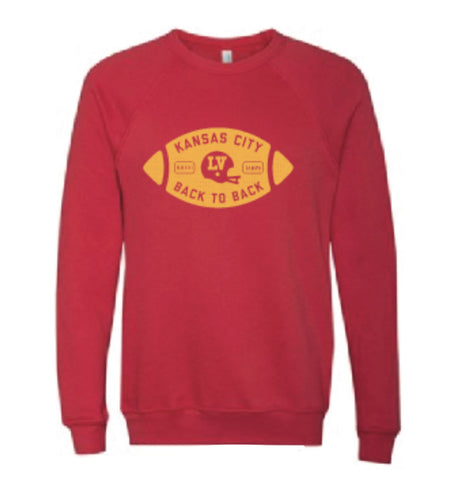Back to Back Football Sweatshirt