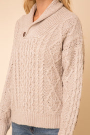 Cable Knit Lodge Sweater