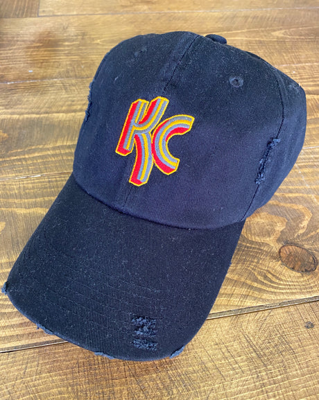 KC Stripe Logo Cap