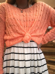 Spring Solid Sweater