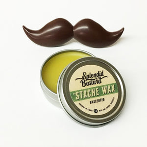 Stache Wax 1oz.