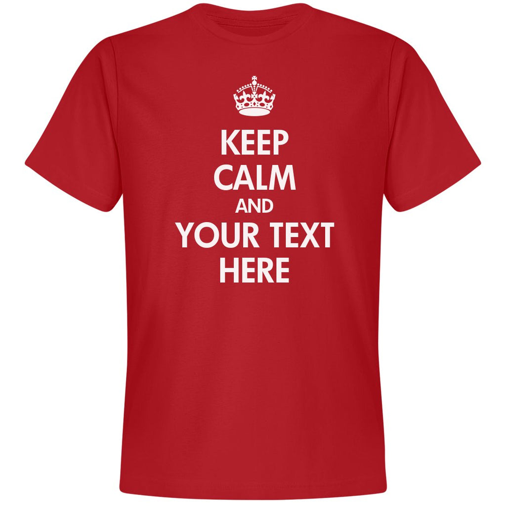 CUSTOM KEEP CALM SHIRTS - Custom Allstars