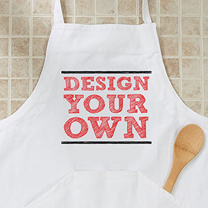 Design Your Own Personalized Adult Apron - Custom Allstars