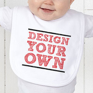 Design Your Own Personalized Baby Bib - Custom Allstars