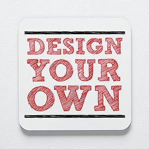 Design Your Own Personalized Coaster - 1pc - Custom Allstars