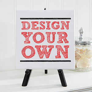 Design Your Own Personalized Canvas Print 5½ x 5½ - Custom Allstars