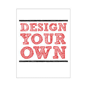 Design Your Own Personalized Stationery- 4¼ x 5½ Vert. - Custom Allstars