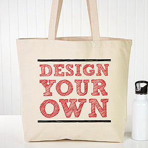 Design Your Own Large Canvas Tote Bag 2019x - Custom Allstars