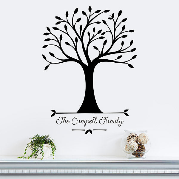 Our Roots Personalized Vinyl Wall Art gift - Custom Allstars