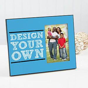 Design Your Own Personalized Frame- Blue - Custom Allstars