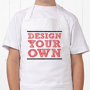 Design Your Own Personalized Kid's Apron - Custom Allstars