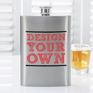 Design Your Own Personalized Sub Flask - Custom Allstars