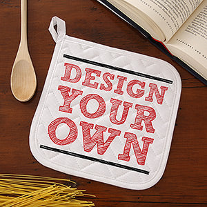 Design Your Own Personalized Potholder - Custom Allstars