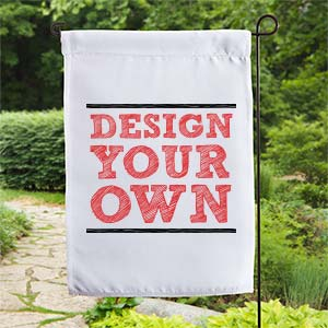 Design Your Own Personalized Garden Flag - Custom Allstars
