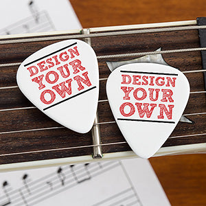Design Your Own Custom Guitar Picks - Set of 20 - Custom Allstars