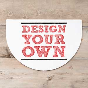 Design Your Own Personalized Half Round Doormat - Custom Allstars