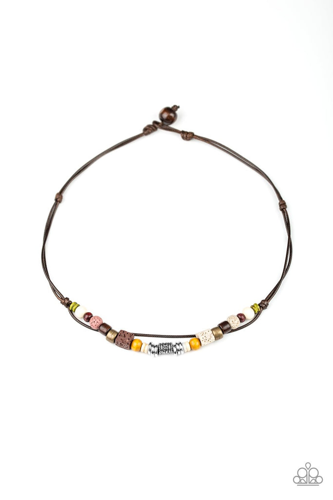 NEW RELEASES 6/1  Beach Quest - Multi MENS URBAN NECKLACE