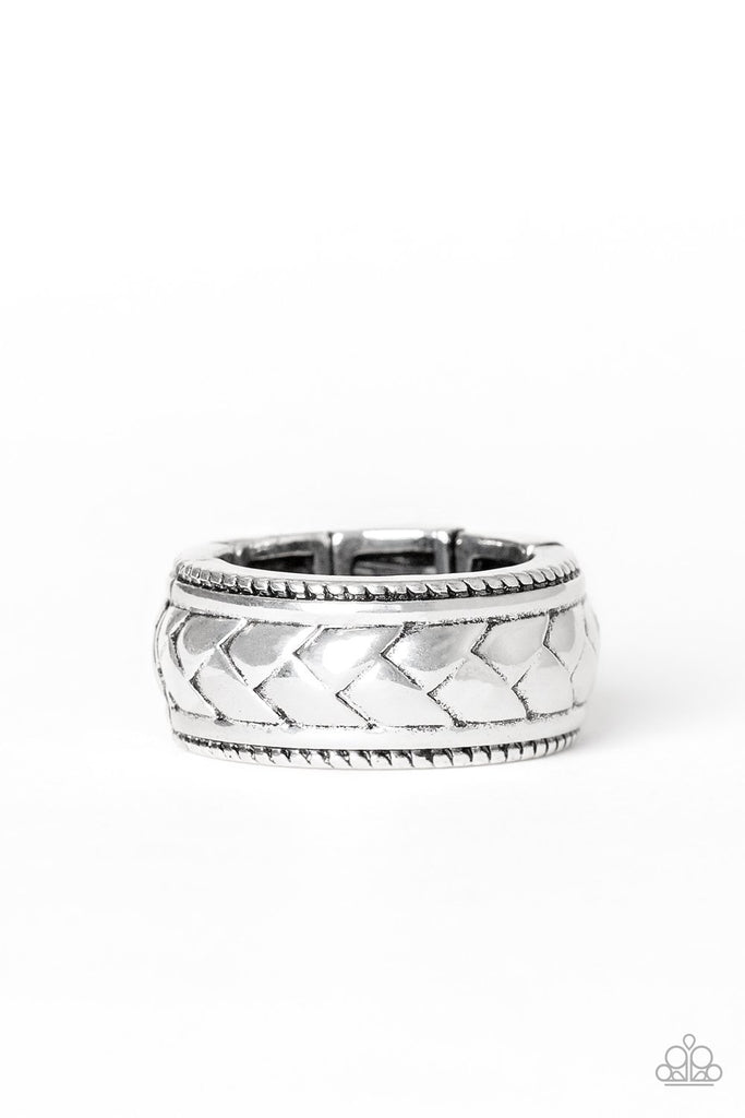 NEW RELEASES  6/2  Field Artillery - Silver MENS RING