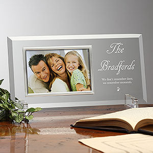 We Remember Moments Personalized Frame - Custom Allstars