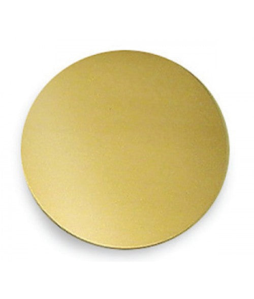 "SATIN GOLD 2"" BRASS CIRCLE (x2020) - Custom Allstars"